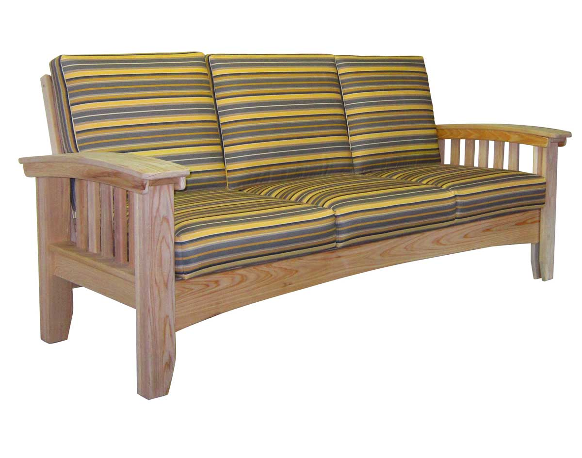 black mission style sofa table futon bed mattress replacement australia cypress w sunbrella cushions