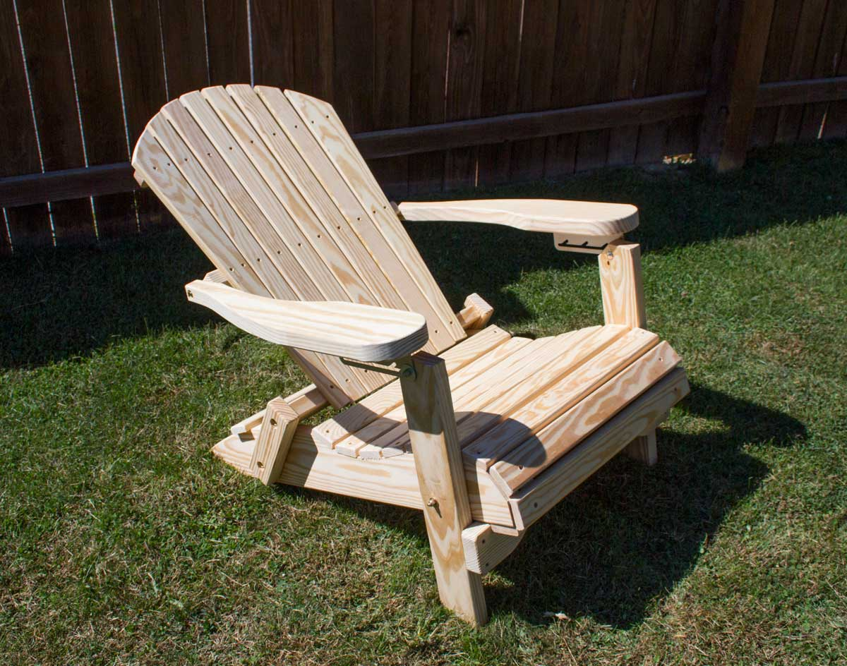folding chairs with footrest amish child rocking chair treated pine adirondack w