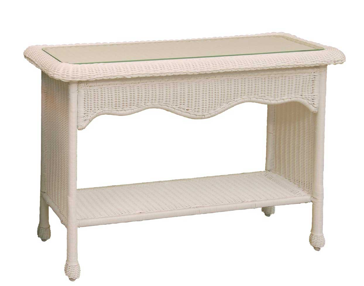 legare bamboo sofa table old karlstad cover wicker sands console