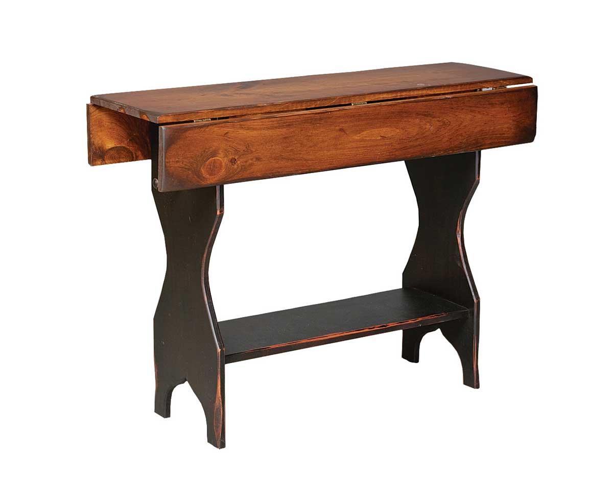 Vintage Drop Leaf Sofa Table