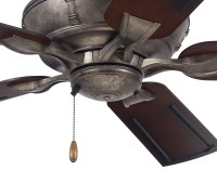"54"" Vintage Steel Lewland Outdoor Ceiling Fan"