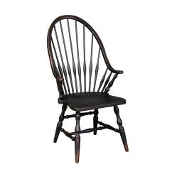 Windsor Chair With Arms Office Mat For Carpet Vintage Arm