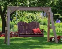 Vinyl -frame Swing Stand