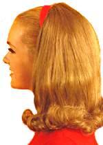 1960s teen hair style