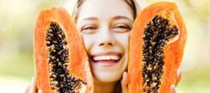 Σπιτική μάσκα προσώπου από παπάγια για λαμπερό δέρμα