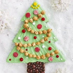 Κέικ – Χριστουγεννιάτικο δέντρο