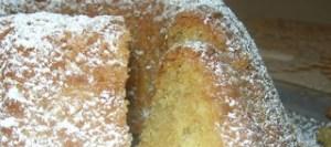 Κέικ με γεύση καρύδα