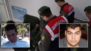 Παρατείνεται η προφυλάκιση των δύο Ελλήνων στρατιωτικών