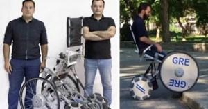 Read more about the article Δύο αδέλφια από τη Λάρισα δημιούργησαν το αμαξίδιο που αλλάζει την ζωή των ανθρώπων με αναπηρία.
