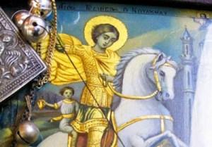 Άη Γιώργης ο Κουδουνάς: O Αγιος Ρωμιών και Τούρκων