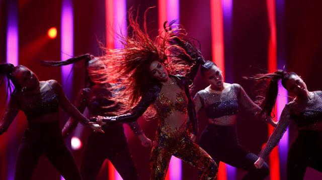 Read more about the article Eurovision 2018: «Εκρηκτική» η εμφάνιση της Ελένης Φουρέιρα