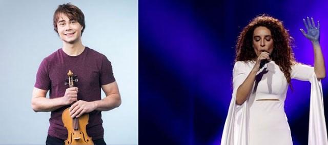 Ο Alexander Rybak στηρίζει τη Γιάννα Τερζή