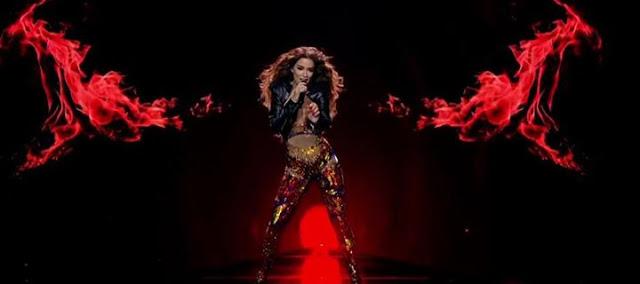 Έβαλε «φωτιά» στη σκηνή η Ελένη Φουρέιρα στη δεύτερη πρόβα της για την Eurovision