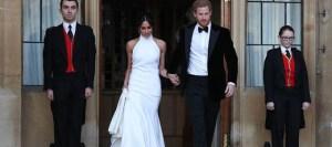 Meghan Markle: Με εντυπωσιακό φόρεμα Stella McCartney και διαμεντένιο δαχτυλίδι της Diana στη γαμήλια δεξίωση!