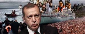 Ο Ερντογάν ανοίγει συνεχώς μέτωπα! «Θα χτυπήσουμε την οικονομία σας πλημμυρίζοντας τα νησιά με πρόσφυγες»-Βρισκόμαστε ήδη σε εμπόλεμη κατάσταση;