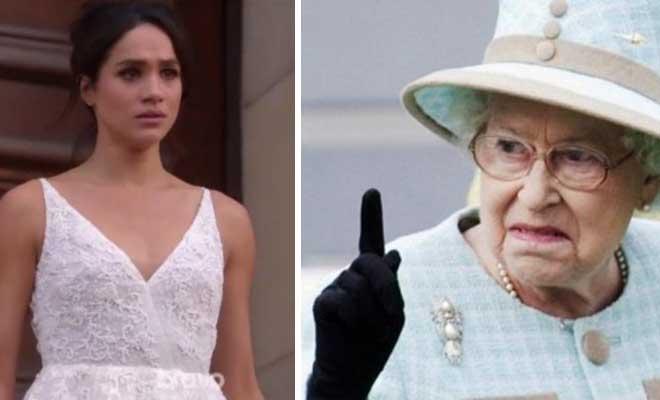 Το απίστευτο λάθος της Meghan Markle που εξόργισε τη Βασίλισσα Ελισάβετ. Έσπασε το πρωτόκολλο για πρώτη φορά