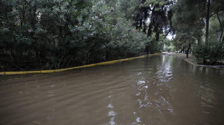 Read more about the article Κακοκαιρία: Πολίτες «κολυμπούν» έξω από το νοσοκομείο Σωτηρία