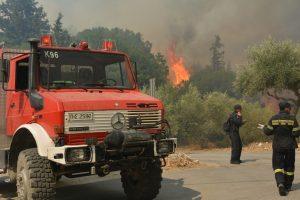 Έκαναν φάρσα στην πυροσβεστική για φωτιά στο Διόνυσο