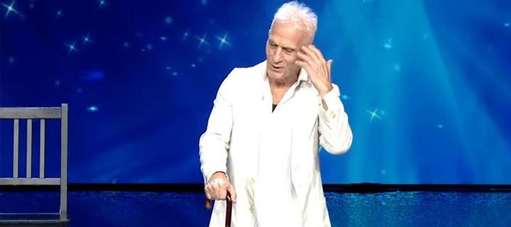 Ο 74χρονος που έκλεψε την παράσταση στο «Ελλάδα έχεις Ταλέντο»