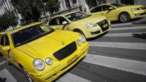 Στάση εργασίας στα ταξί