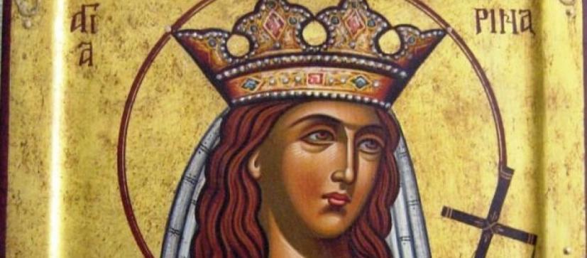 Η Αγία Αικατερίνη και η συνομιλία της με τους 50 ρήτορες