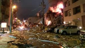 Ισχυρή έκρηξη σε εστιατόριο στην Ιαπωνία – Τουλάχιστον 40 τραυματίες