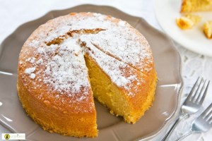 Εύκολη βασιλόπιτα κέικ με πορτοκάλι