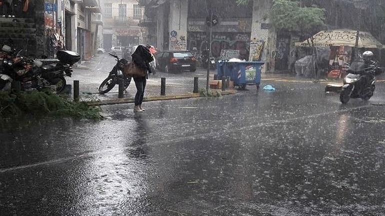 Έκτακτο δελτίο ΕΜΥ: Έρχονται ισχυρές βροχές, χιόνια και θυελλώδεις άνεμοι