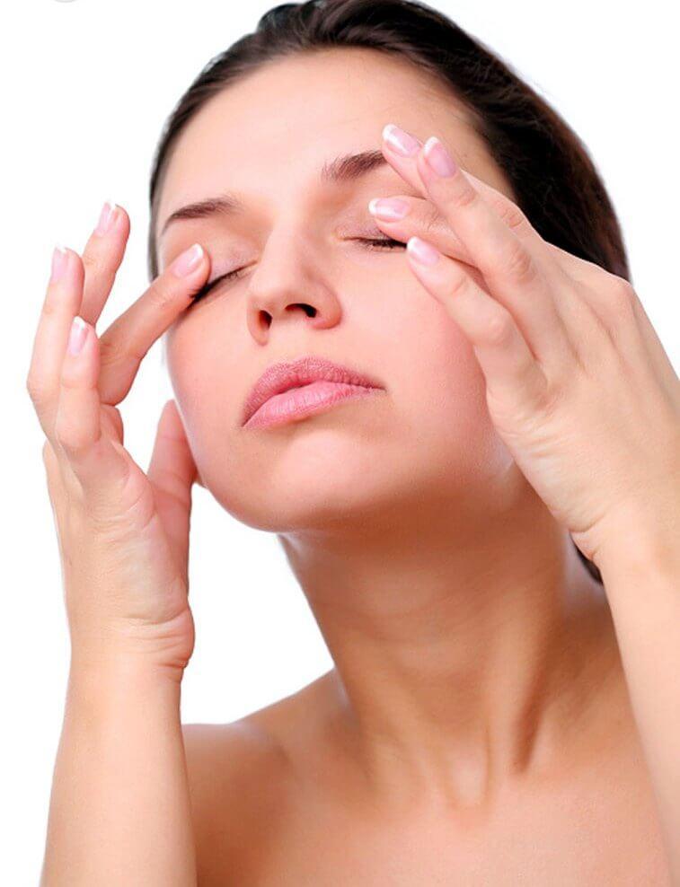 Μασάζ κατά των κουρασμένων ματιών