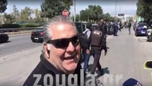 Το ΣΑΤΑ διέγραψε τον ταξιτζή της λεωφόρου Βουλιαγμένης για την αντίδρασή του με το αιμόφυρτο θύμα