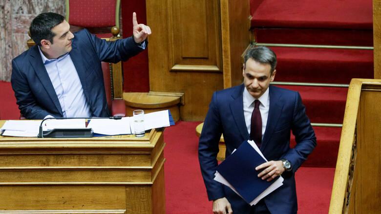 Read more about the article «Φωτιά» στο πολιτικό σκηνικό με ένταση και σφοδρή σύγκρουση Τσίπρα – Μητσοτάκη