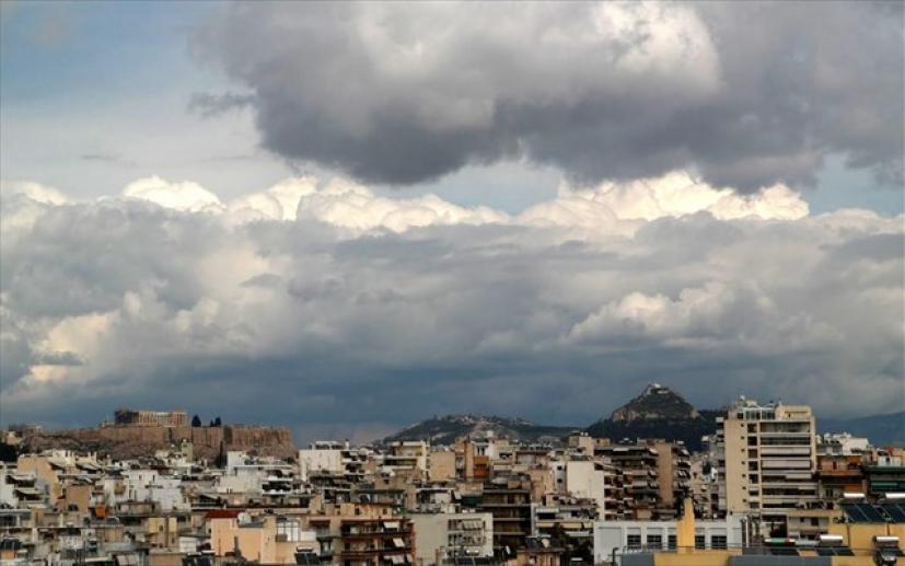 Συννεφιά, τοπικές βροχές και σποραδικές καταιγίδες