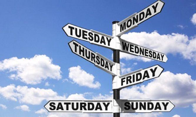 Πού αφιερώνει η Εκκλησία την κάθε ημέρα της εβδομάδας