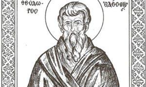 Read more about the article Στις 19 Ιουλίου τιμάται ο Όσιος Θεόδωρος ο Σαββαΐτη