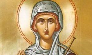 Σήμερα τιμάται η Αγία Χρυσή η Νεομάρτυς