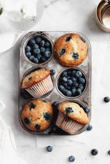Blueberry Muffins: Ένα επιδόρπιο με λίγες θερμίδες!.fiftififti.eu
