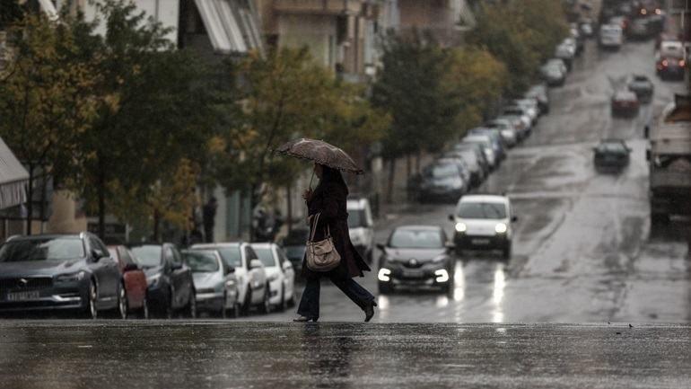 Ισχυρές βροχές και καταιγίδες το Σάββατο σε πολλές περιοχές