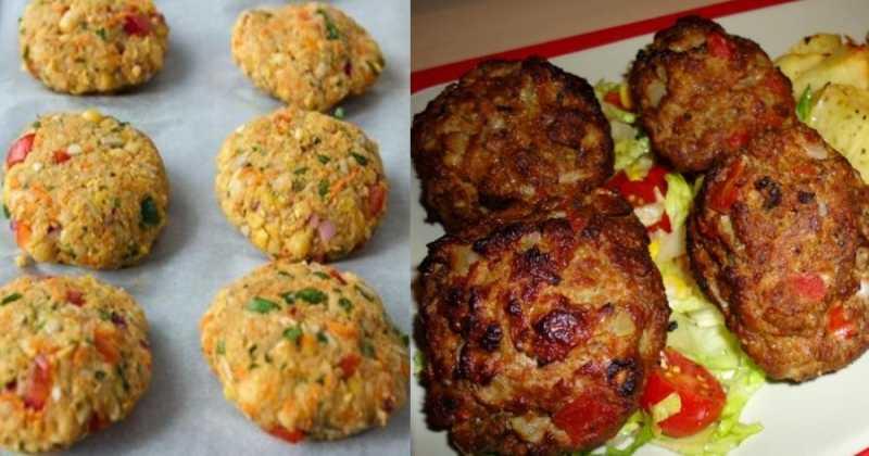 Αφράτα μπιφτέκια λαχανικών με εξαιρετικά υλικά που γίνονται πιο νόστιμα και από τα κανονικά