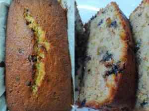 Read more about the article Κέικ χωρίς ζάχαρη με σταγόνες σοκολάτας