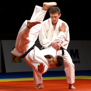 Kata demonstrations as part of Opening Ceremony