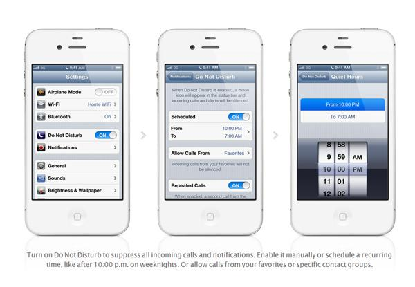 Apple iOS sports a