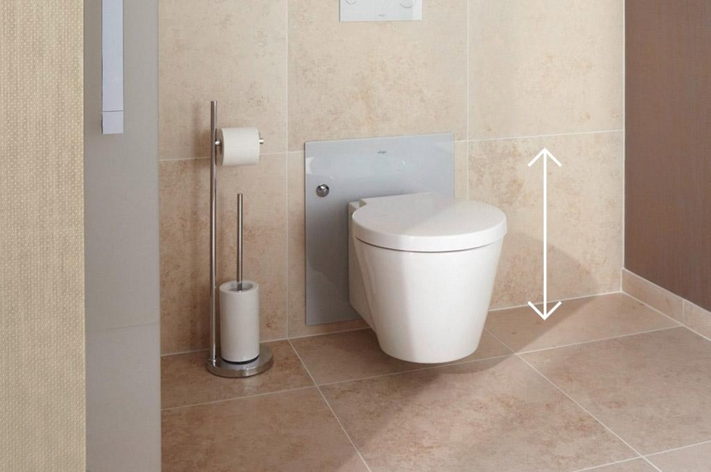 Een badkamer die zich aanpast aan je leeftijd en lengte u fiftymore