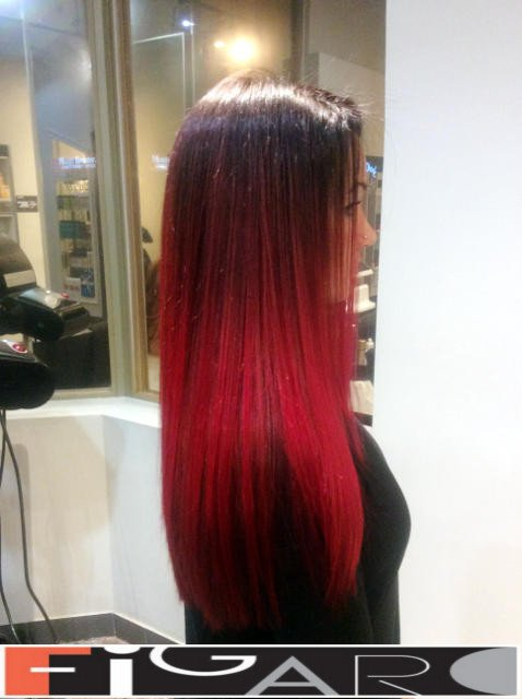 Best Red Balayage In Toronto Red Balayage Highlitghts