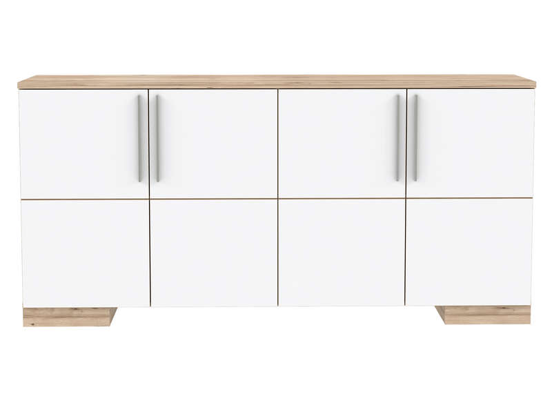 buffet 4 portes eden coloris chene