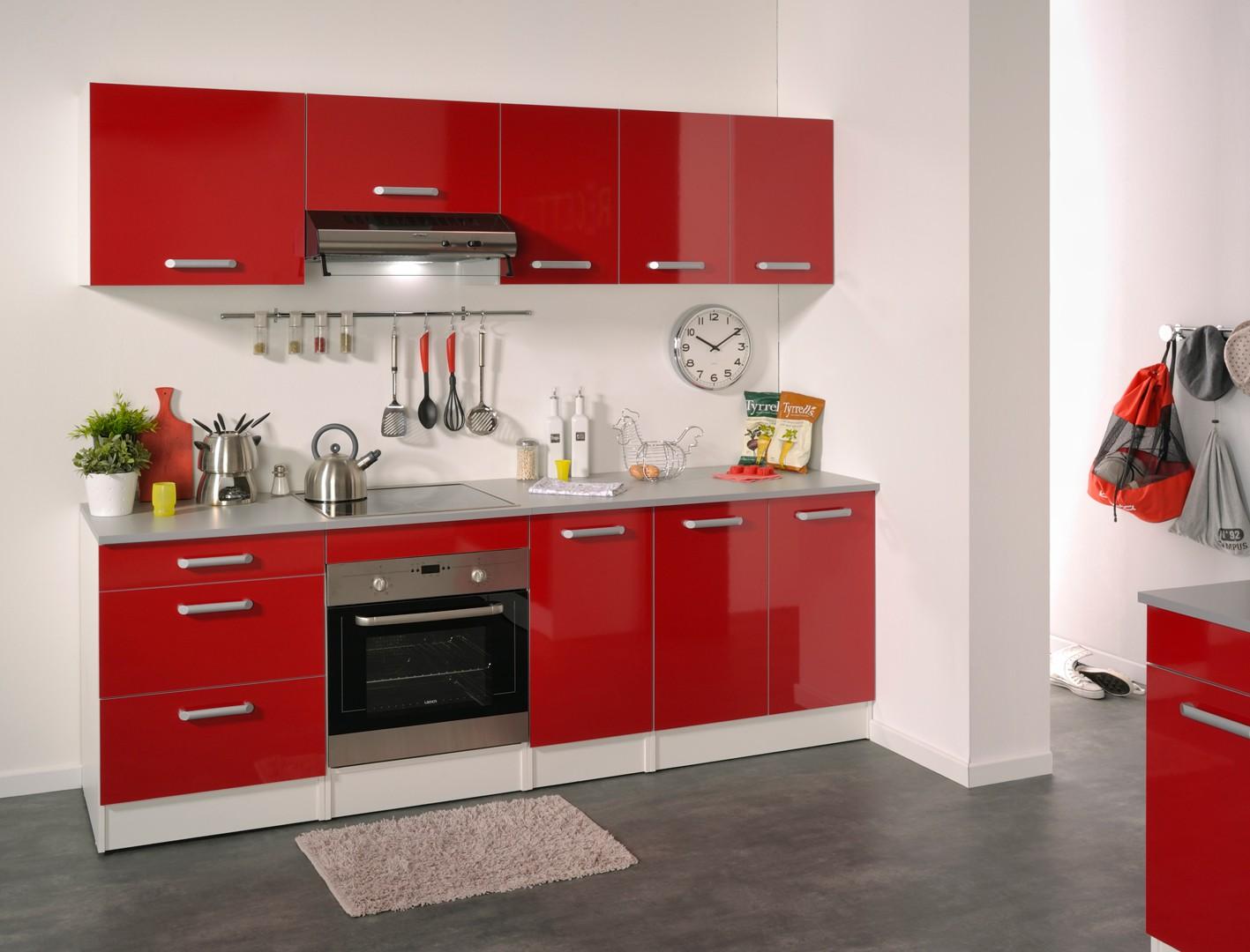 rouge buffet cuisine soldes cbel cuisines
