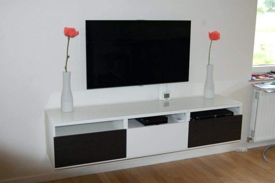meuble cache tv ecran plat meuble tv