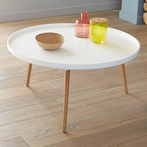 table basse 50 cm table basse blanche