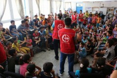 Popular Front for the Liberation of Palestine organizing activities for children