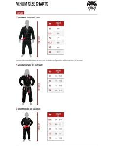 Size guide also venum contender kids gi childrens bjj uniform fight equipment uk rh fightequipmentuk