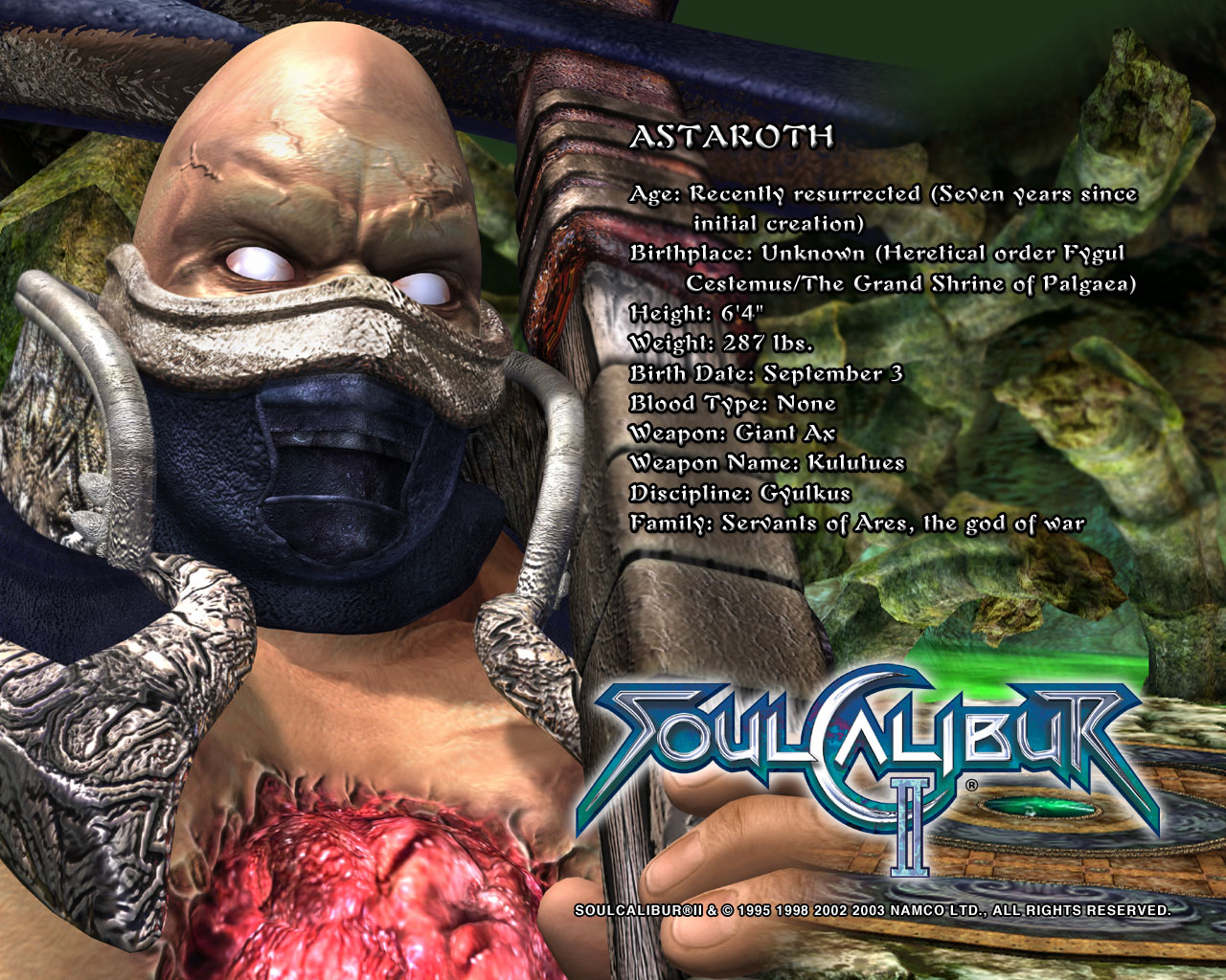 Taki Calibur 6 Soul